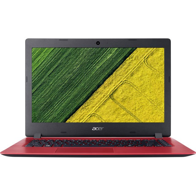 "Acer Aspire 1 14"" Laptop - Red"