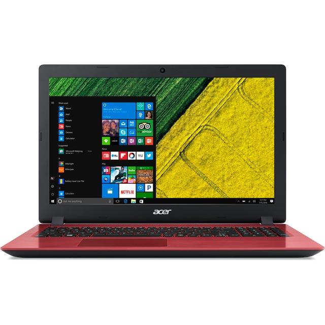 "Acer Aspire 3 A315-51-36D 15.6"" Laptop - Red"