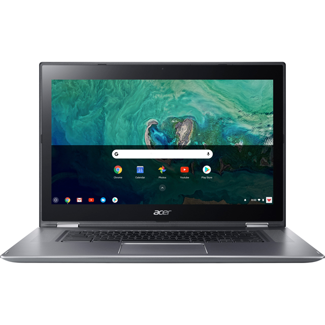 "Acer Spin CP315 15.6"" Full HD 2-in-1 Chromebook - Silver - NX.GWGEK.001 - 1"