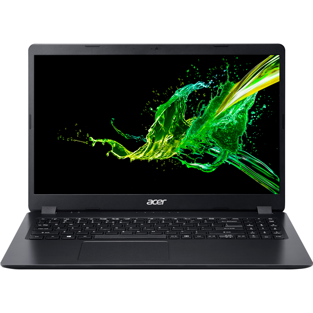 "Acer Aspire 3 (A315-54) 15.6"" Laptop - Black - NX.HEEEK.006 - 1"