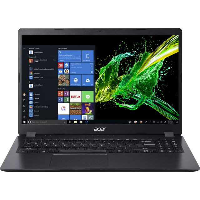 "Acer Aspire 3 A315-42 15.6"" Laptop - Black"