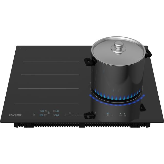Samsung Chef Collection NZ64N9777BK Built In Induction Hob - Black - NZ64N9777BK_BK - 1
