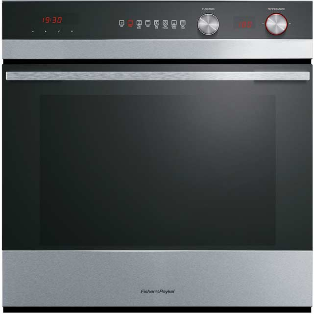 Fisher & Paykel OB60SC7CEPX1 Built In Electric Single Oven - Stainless Steel - A Rated - OB60SC7CEPX1_SS - 1