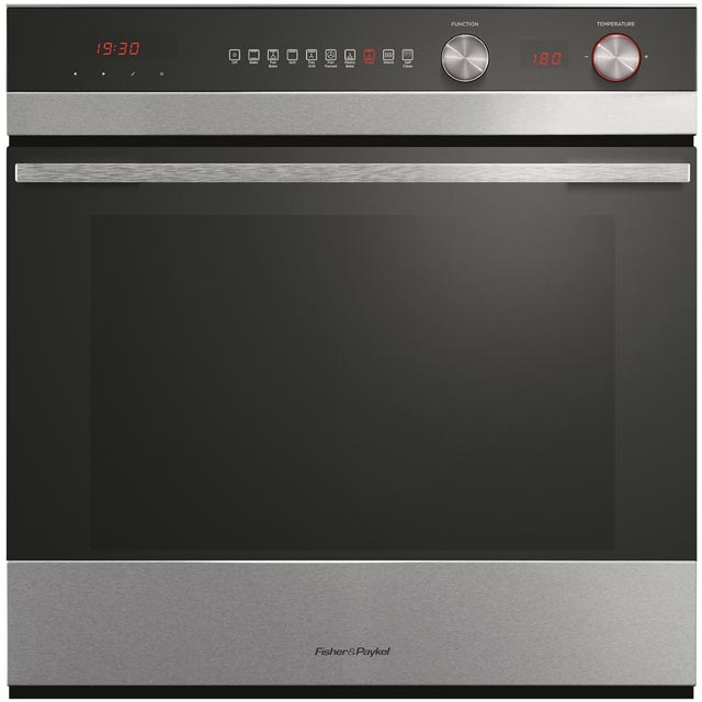 Fisher & Paykel Designer OB60SC9DEPX1 Built In Electric Single Oven - Black - A Rated - OB60SC9DEPX1_BK - 1