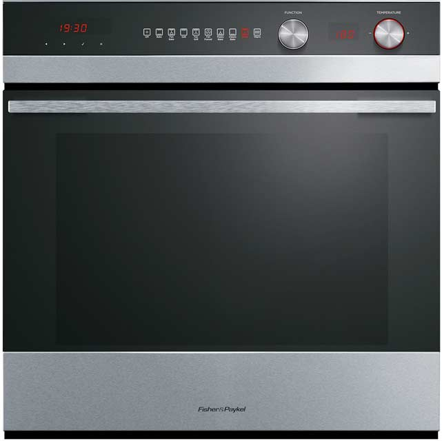 Fisher & Paykel OB60SC9DEX1 Built In Electric Single Oven - Stainless Steel - A Rated - OB60SC9DEX1_SS - 1