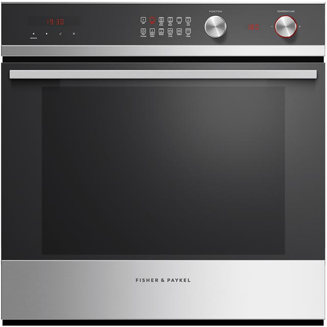 Fisher & Paykel Designer Companion OB60SD11PX1 Built In Electric Single Oven - Stainless Steel - A+ Rated - OB60SD11PX1_SS - 1