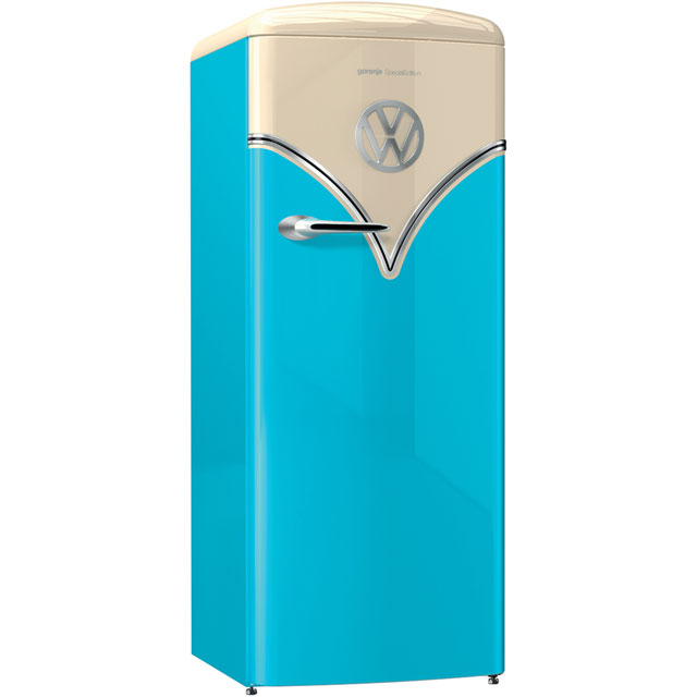 Gorenje Retro Special Edition OBRB153BL Fridge - Blue - A+++ Rated
