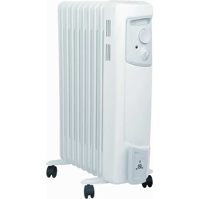 Dimplex OFC2000 Oil Filled Radiator 2000W - White / Grey - OFC2000_WH - 1