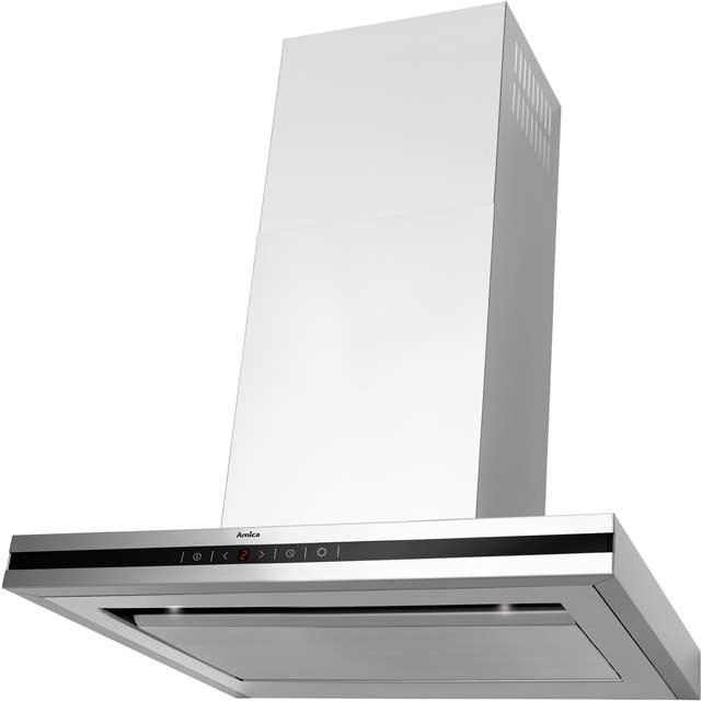 Amica OKS652TUK 60 cm Chimney Cooker Hood - Stainless Steel