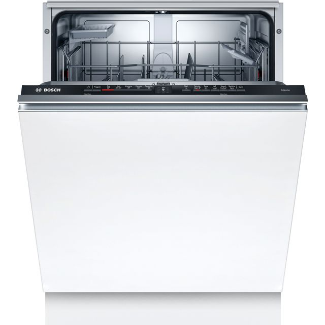 Bosch Serie 2 SMV2HAX02G Wifi Connected Fully Integrated Standard Dishwasher - Black Control Panel - D Rated
