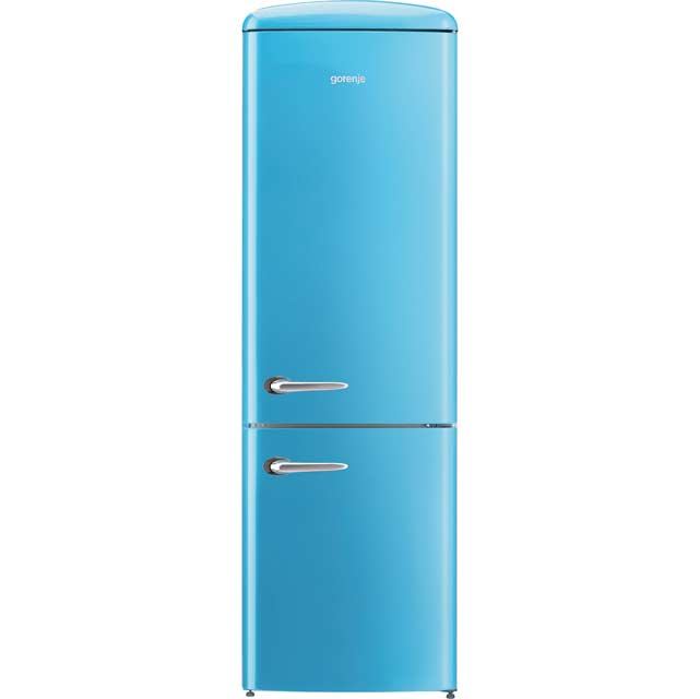 Gorenje Retro Collection 70/30 Frost Free Fridge Freezer - Blue - A+++ Rated