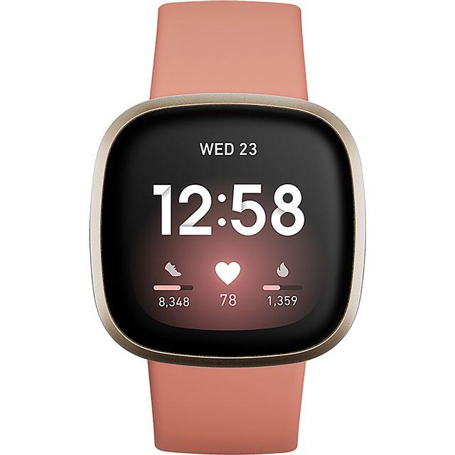 Fitbit Versa 3 Smart Watch - Pink
