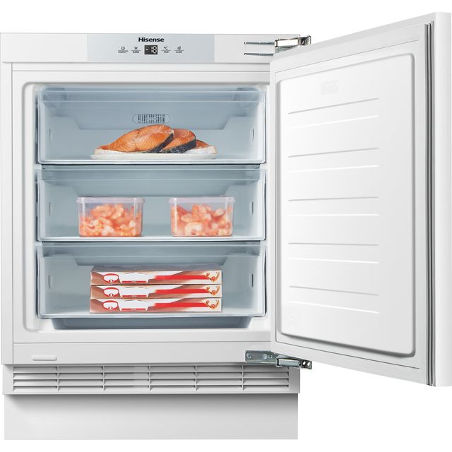 Hisense FUV124D4AW1 Integrated Under Counter Freezer - F Rated