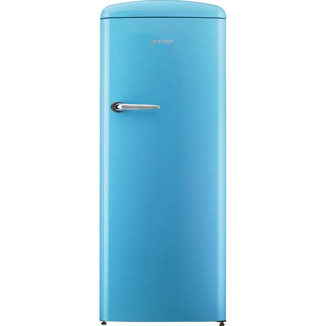 Gorenje Retro Collection ORB153BL Fridge with Ice Box - Blue - A+++ Rated - ORB153BL_BL - 1