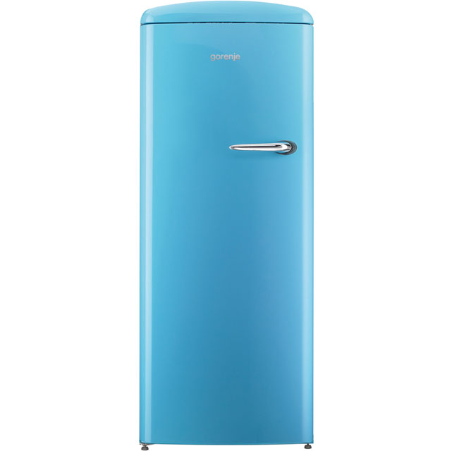 Gorenje Retro Collection ORB153BL-L Fridge with Ice Box - Blue - A+++ Rated - ORB153BL-L_BL - 1