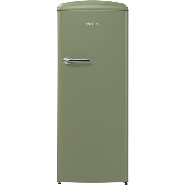 Gorenje Retro Collection ORB153OL Fridge with Ice Box - Olive Green - A+++ Rated - ORB153OL_OL - 1