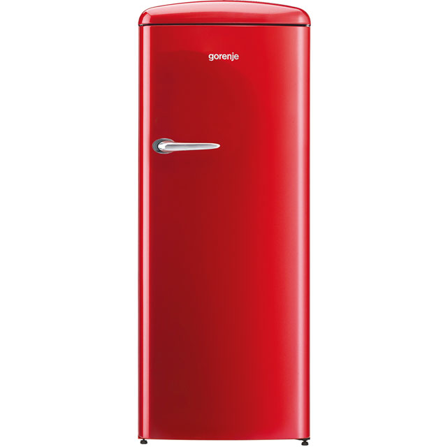 Gorenje ORB153RD Free Standing Refrigerator in Red
