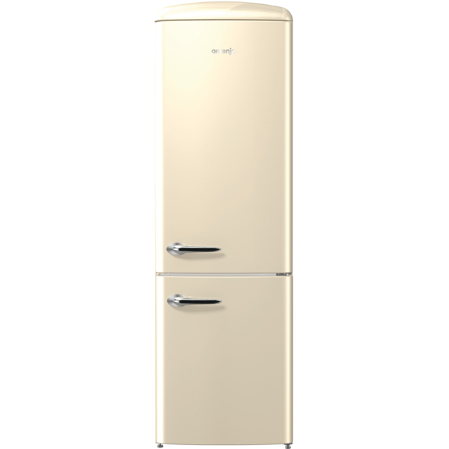 Gorenje Retro Collection ORK193C 70/30 Fridge Freezer - Cream - A+++ Rated - ORK193C_CR - 1
