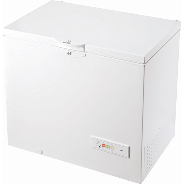 Indesit OS1A250H2UK.1 Chest Freezer - White - OS1A250H2UK.1_WH - 1