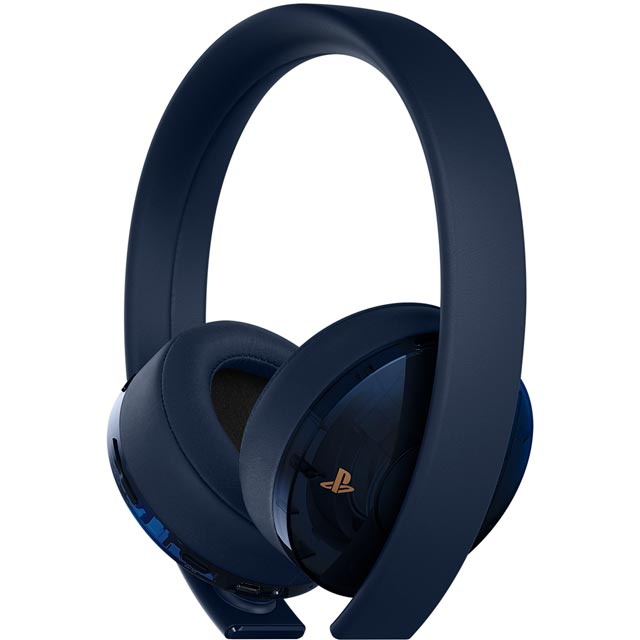 Sony PlayStation Wireless Gold 500 Million Limited Edition Wireless - Navy Blue - P4AEACSNY40457 - 1