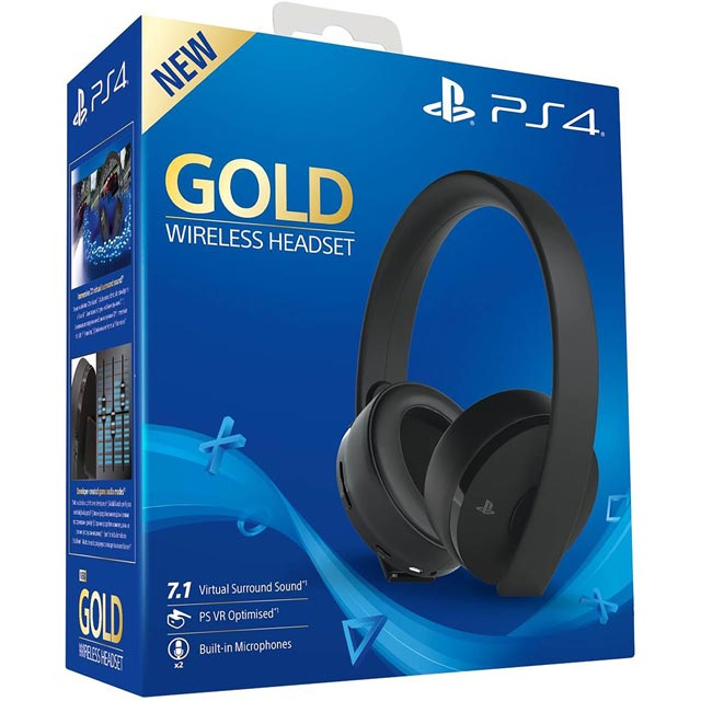Sony PlayStation Console Headset in Black