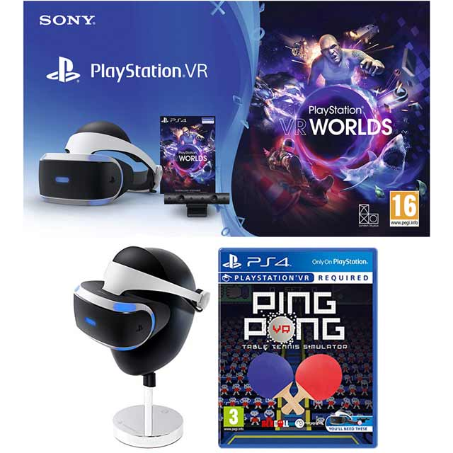 Sony PlayStation P4AEHWCST54154 Vr Headset in Black