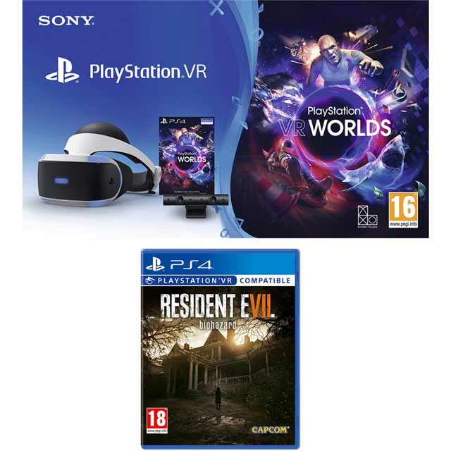 Sony PlayStation P4AEHWCST54156 Vr Headset in Black
