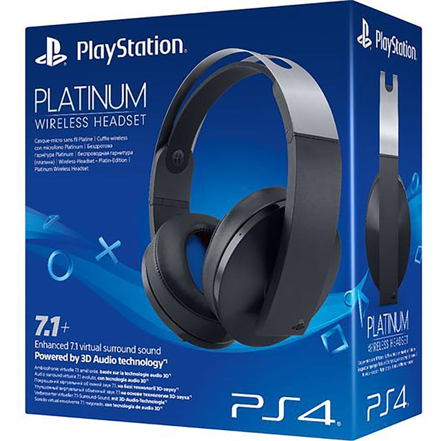 Sony PlayStation Wireless Platinum Wireless - Black