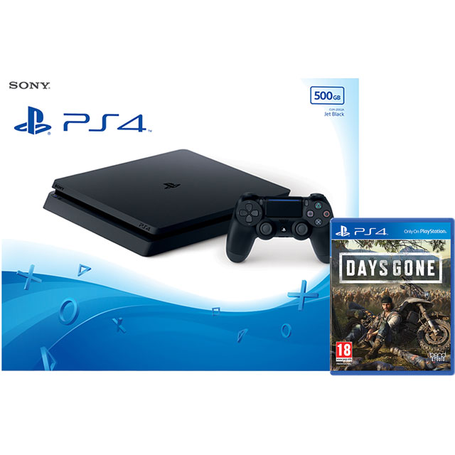 PlayStation 4 500GB with Days Gone (Disc) - Black - P4HEADCST56533 - 1