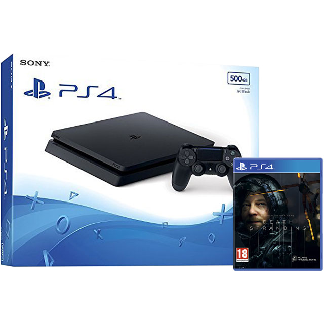 PlayStation 4 500GB with Death Stranding - Black - P4HEHWKIT57446 - 1
