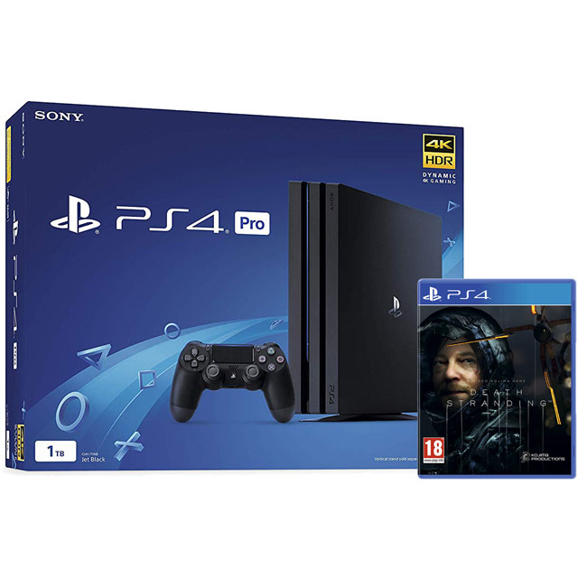 PlayStation 4 Pro 1TB with Death Stranding (Disc) - Black - P4HEHWKIT57448 - 1