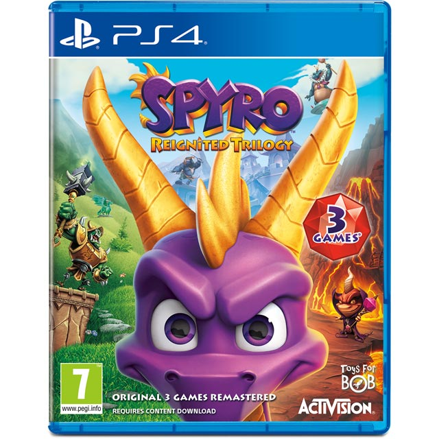 Spyro Trilogy Reignited for PlayStation 4