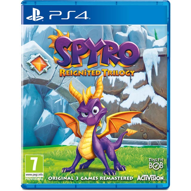 Spyro Trilogy Reignited for PS4 - Pre-Order