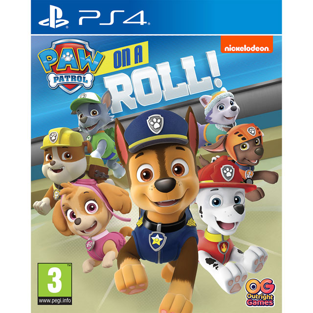 Paw Patrol: On A Roll for PlayStation 4 - P4REAAINF03082 - 1