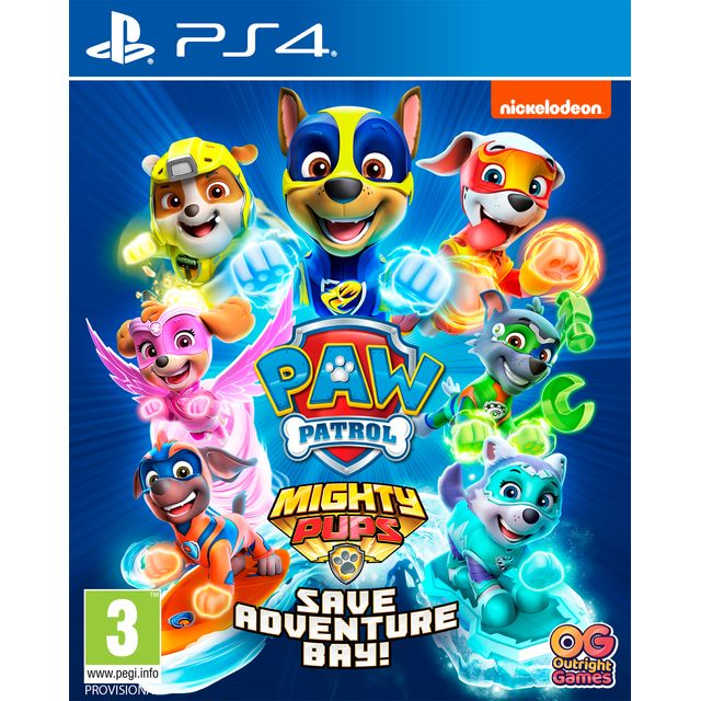 Paw Patrol: Mighty Pups Save Adventure Bay for PlayStation 4 - White