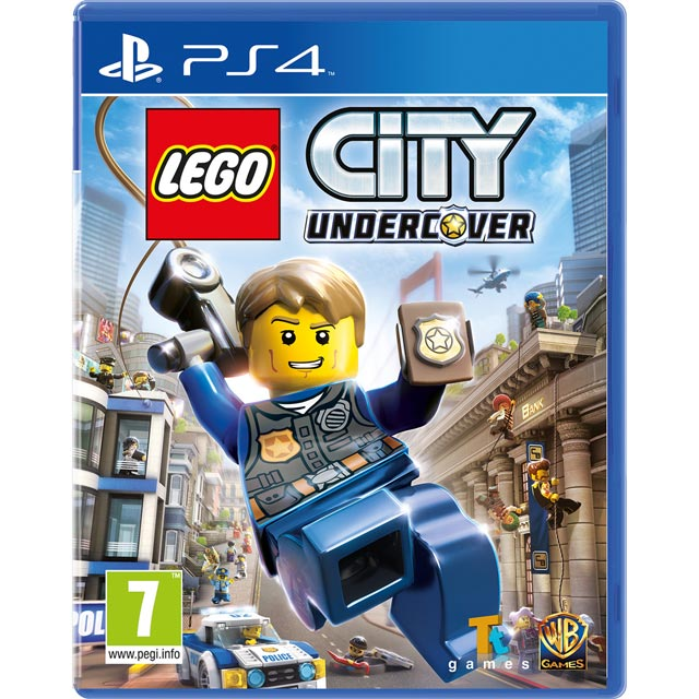 LEGO City Undercover for PlayStation 4 - P4REAAWAR20393 - 1