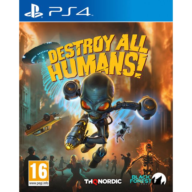 Destroy All Humans! for Sony PlayStation