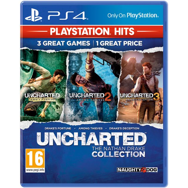Uncharted: The Nathan Drake Collection for PlayStation 4 - P4READSNY71151 - 1
