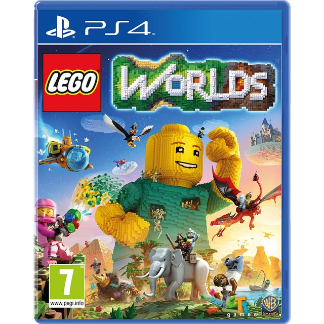 Lego Worlds for PlayStation 4 - P4READWAR20395 - 1