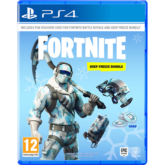 FORTNITE: Deep Freeze Bundle for PlayStation 4
