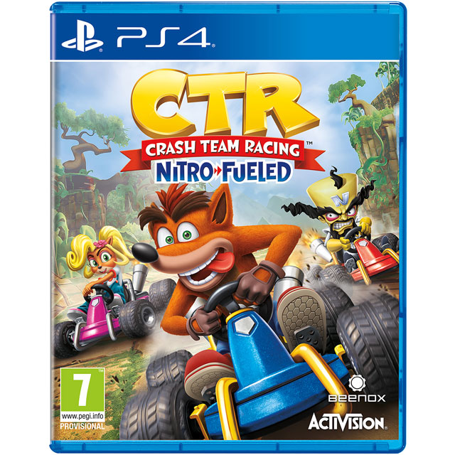 Crash Team Racing Nitro-Fueled for PlayStation 4 - P4REARACT26972 - 1