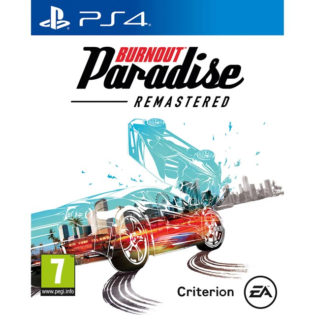Burnout Paradise Remastered for Sony PlayStation