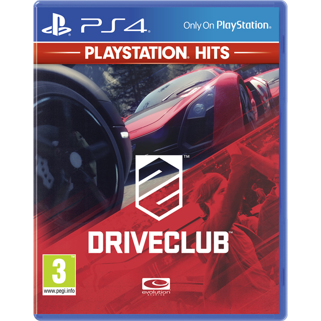 Driveclub: PlayStation Hits for PlayStation 4 - P4REARSNY41287 - 1