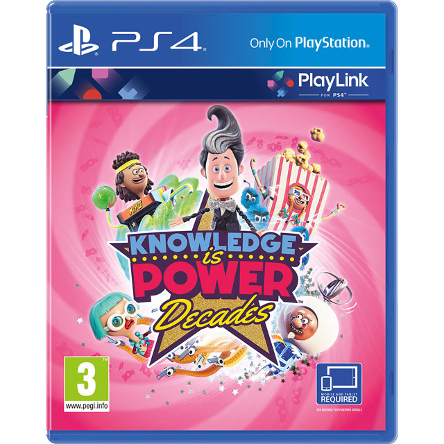 PlayLink Knowledge is Power: Decades for PlayStation 4 - P4REARSNY77191 - 1