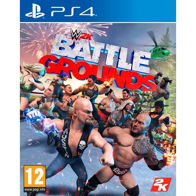 WWE 2K Battlegrounds for Sony PlayStation
