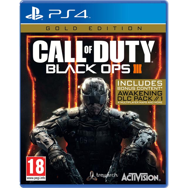 Call Of Duty Black OPS 3 Gold for PlayStation 4 - P4REFPACT21672 - 1