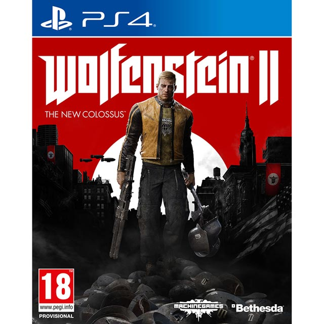 Wolfenstein 2: The New Colossus for PlayStation 4 - P4REFPBET41682 - 1