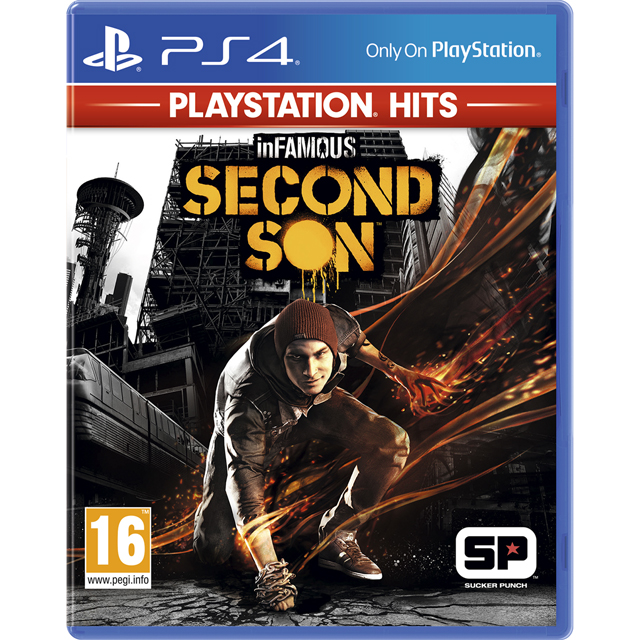 InFamous Second Son: PlayStation Hits for PlayStation 4