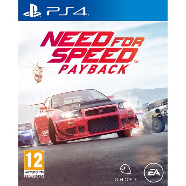 Need For Speed Payback for PlayStation 4 - P4RESIELE12156 - 1