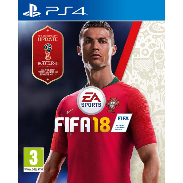FIFA 18 for PlayStation 4 - P4RESSELE12152 - 1